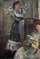 Staande vrouw, Paskamer Hirsch