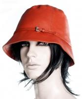 Prada Leather Bucket Hat - Prada