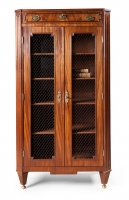 Elegant Dutch Louis Seize library  cabinet