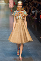 Dolce & Gabbana Raffia Skirt - Dolce & Gabbana