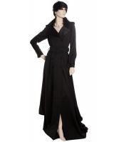 Takada Floor-sweeping Length Tuxedo Trench Coat