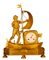M156 Gilt bronze French Directoire 'genre clock'
