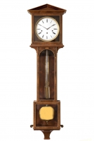 Viennese regulator, grande sonnerie,  Laterndluhr, made circa 1820-30.