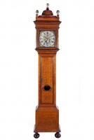 Exclusieve Hollandse staande klok van Adriaan d'Baghijn, Amsterdam, ca. 1710.