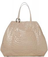 Christian Dior Vintage Croc Embossed Tote Bag XXL