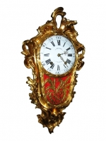 W01 Gilt Transitional Louis XV/XVI Cartel clock