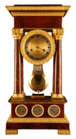 T06 Large French multi-dial regulator clock