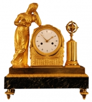 M40 French mantle clock 'La Liseuse'