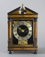 An early bracket clock, so called 'Haagse klok' by Simon Lachez , Utrecht ca. 1690. by Simon Lachez