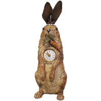 Animated Rabbit clock