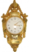 W24 Small Louis XVI Cartel Clock