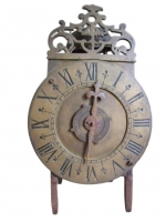 LA06 French lantern clock with alarum