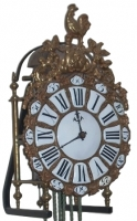 LA02 French 3 Bell Quarter striking lantern clock