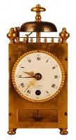 C04 French capucine travel alarm clock