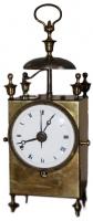 C11 French capucine travel alarm clock