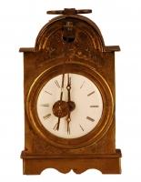 C03 Miniature engraved vorderzapler travel clock
