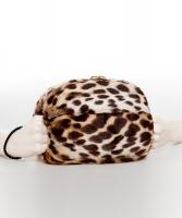 Vintage Ocelot Fur Hand Muff