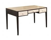 F02 Art Deco/Jean Michel Frank style desk shagreen panels