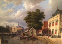 Townview in Summertime, Haarlem
