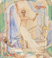 The resurrection of Jesus - Jan Toorop