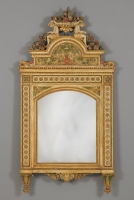 Italian Mirror in the manner of Guiseppe Maria Bonzanigo