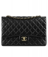 Chanel Classic Single GHW Flap Bag - Maxi