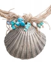 Mario Buccellati Silver Seashell Necklace