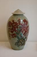 Han Boerrigter, Vase 'Red Blossom' - Han Boerrigter