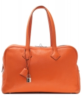 Hermès Victoria II 35 Tote Bag PHW