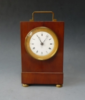Important early French carriage clock, No 1512, in  Breguet style, circa 1810.