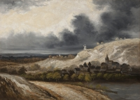 Les Environs de Montmartre - Georges Michel