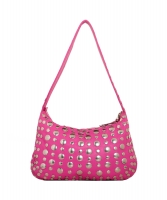 Marni Pink Studded Hobo Bag