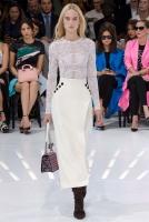 Christian Dior Midi Rok met Split - Christian Dior