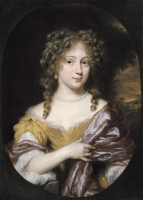Portrait of a lady,  possible Anna or Maria Meulenaer