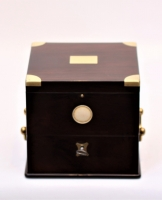 A French rosewood chronometer by Onésime Dumas, circa 1855.
