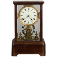 Eureka Clock Co Ltd., a battery powered mantel clock,  circa 1908