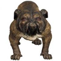 A strong Vienna bulldog bronze, circa 1890