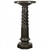 Green Marble Turned Pedestal, circa 1880