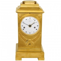 An imposing early 19th century carriage clock by Lepaute, circa 1800