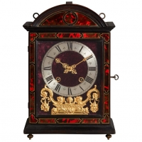 A beautiful French Louis XIV 'Religieuse clock', signed P Royer a Paris, circa 1680