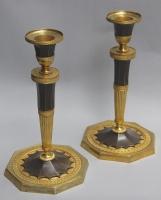 Pair Directoire candlesticks