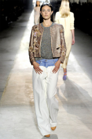 SS 2011 Dries van Noten Runway Wide Leg Denim Pants - Dries van Noten