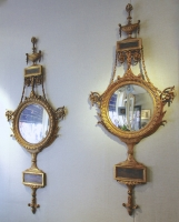 Paar spiegels