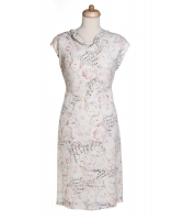 Chanel Camllia Print Dress 98C