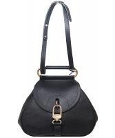 Delvaux Black Cerceau Jumping Bag