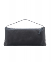 Gianfranco Ferre Black Leather East West Handbag