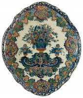 Polychrome Delft Plaque