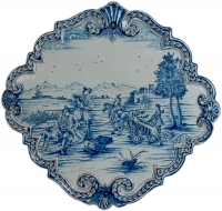 Delft Blue Plaque