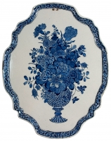 Delfts Blauwe Plaque