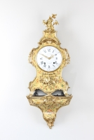 A French Louis XV Vernis Martin bracket clock by Viger and Lieutaud, circa 1755